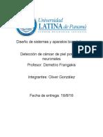 Proyecto Final - Diseño de Sistemas y Aparatos Biomèdicos