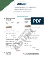 SOLUCIONARIO 2º EXAMEN DE BECAS SIg_Álgebra