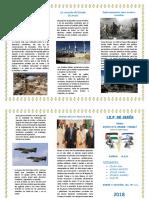 Tríptico Conflicto Arabe Israeli