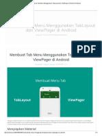 Membuat Tab Menu Menggunakan TabLayout Dan ViewPager Di Android _ Androsia