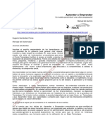 Aprender a Emprender un modelo. 2006.pdf