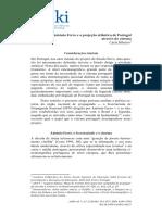 Antonio Ferro e a Projeção Atlântica de Portugal