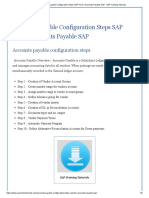 Accounts Payable Configuration Steps SAP FICO _ Accounts Payable SAP - SAP Training Tutorials