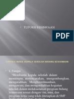Tupoksi Wakil Kepala Sekolah Bidang Kesiswaan.ppt