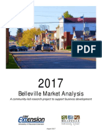 2017Belleville Market Analysis Report - Final With Survey Appendices