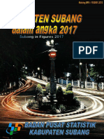 Kabupaten Subang Dalam Angka 2017