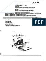 Brother CB3-B916, -B917 Parts Book