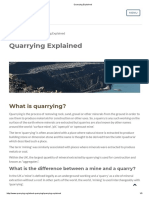Quarrying Explained