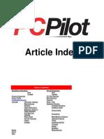pc pilot index