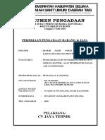 Bahpl Pengadaan Barang Dan Jasa Service Ac