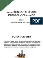 Sensor Sensor Analog