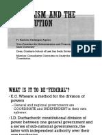 Federalism SLU 1.Ppt by Fr. Ranhilio Aquino