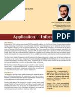 2011 Scholarship Application