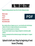 Remaking Your Case Study