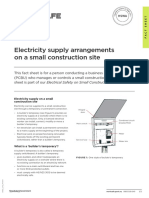 WKS 6 Electricity Supply Arrangements on Small Sites