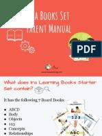 Ira Book Starter Set Parent Manual