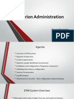 Hyperion Administration