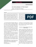 Dr. Bernat - Progressive Hemodialysis - Jurnal