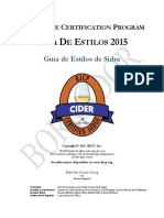 Guia de Estilos de Sidra 2015