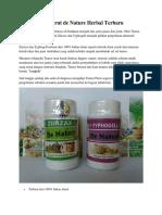 Obat Tumor Perut de Nature Herbal Terbaru