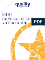 Equality Long Island's 2010 Voter Guide