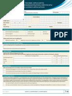 1 4w Overseas Registration Certificate Licencec