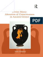 Divine Mania Alteration of Consiousness