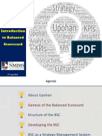 Balanced Scorecard Introduction Presented Version