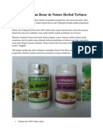 Obat Tumor Usus Besar de Nature Herbal Terbaru