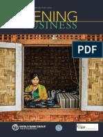 Myanmar Dtis 2016 Vol.1 Main Report 0