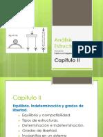 Análisis Estructural I-Capitulo II