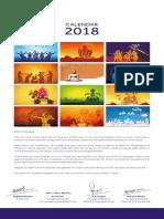 Calendar 2018 CircleWise
