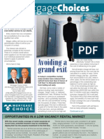 Mortgage Choice Newsletter