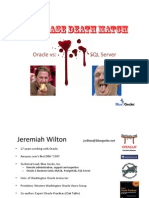 SQL vs Oracle Death Match