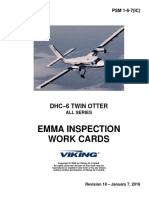 Dhc 6,Emma Ins. Work Cards,Psm 1 6 7(Ic)