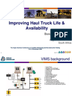 Improving Haul Truck Life & Availability