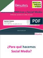 Workshop Metricas y Social Media