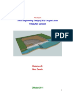 Desain Timbunan Causeway Carocok Sumbar