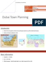 Student Assignment - Town Planning Study - Dubai
