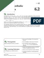 6 2 Hyperbolic Functions
