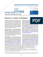 Drugs for Cardiac Arrhythmias