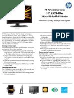 1320 Hp Zr2440w Monitor