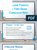 curriculum night 2018 st john