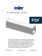 Air Slide Conveyor Systems
