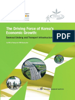 Saemaul Undong and Transport Infrastructure Expansion in Korea