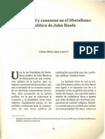 Pluralidad Y Consenso En El Liberalismo Politico - RAWLS
