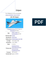 The Saab JAS-39A Gripen