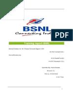 Shadab Bsnl Report
