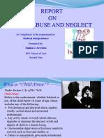 Child Abuse Power Point Presentation