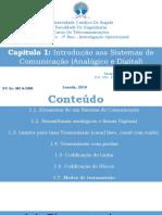 Introdução Aos Sistemas de Comunicação (Analógico e Digital)